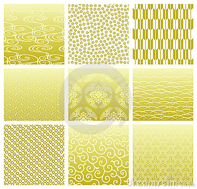 Free Japanese Traditional Patterns Stock Photography - 16160772