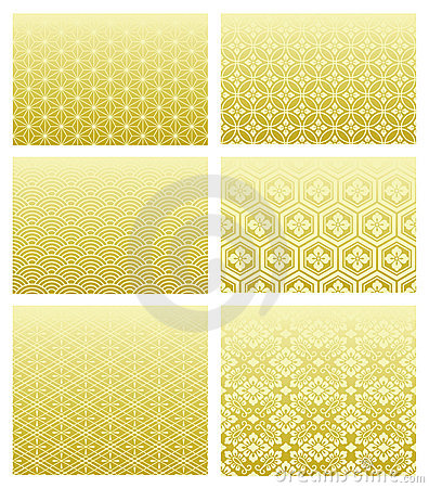 Free Japanese Traditional Patterns Royalty Free Stock Photography - 16185917