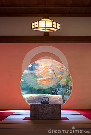 Free Japanese Traditonal Architecture And Garden Royalty Free Stock Photography - 84311847