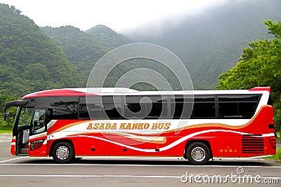 Japanese Travel Bus