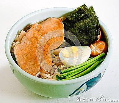Japanese udon ramen