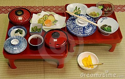 Japanese Vegetarian Meal
