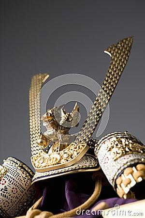 Japanese warrior s helmet