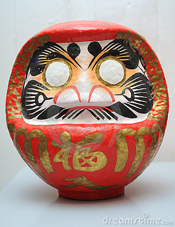 Japanese wish doll (daruma)