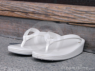 Japanese woman slippers