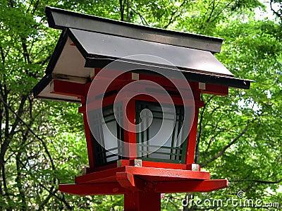 Japanese Wooden Lantern Royalty Free Stock Photo Image 36445