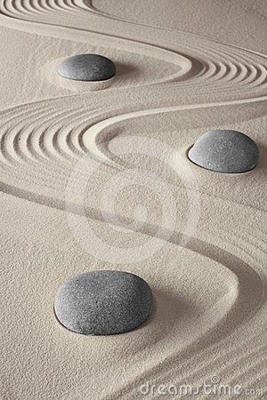 Free Japanese Zen Meditation Garden Royalty Free Stock Photography - 24429937