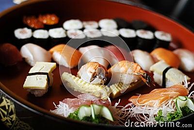 Japanische Mahlzeit