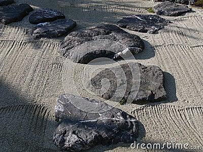 Japanischer steingarten stockfoto bild 1036790 - Japanischer steingarten ...