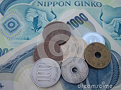 Japanisches Geld