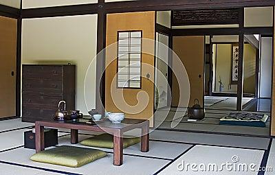 japanisches haus stockfoto bild 6465050. Black Bedroom Furniture Sets. Home Design Ideas