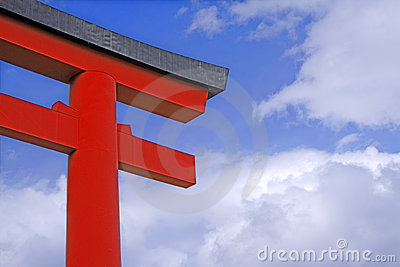 Japanse tempelpoort