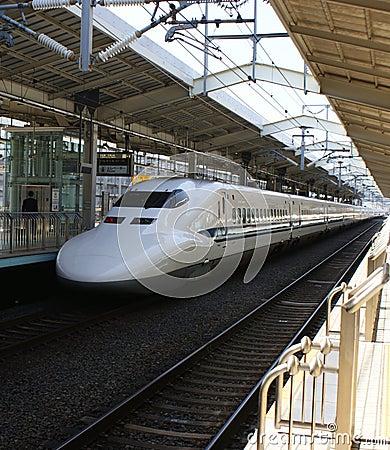 Japanse ultrasnelle trein