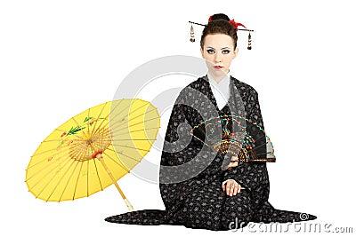 Japansk geisha