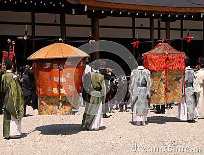 Japończycy ceremonię