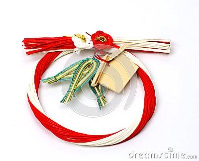 Japoński dekoracji new year