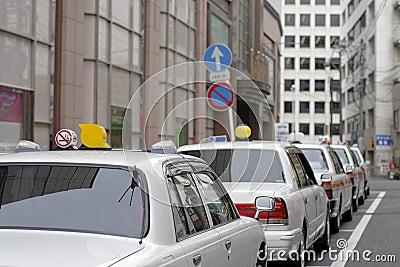Japońskie taksówki