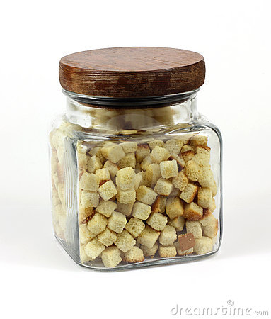 Jar Croutons