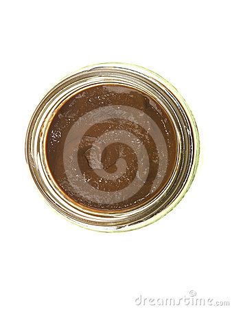 Jar of French Mustard