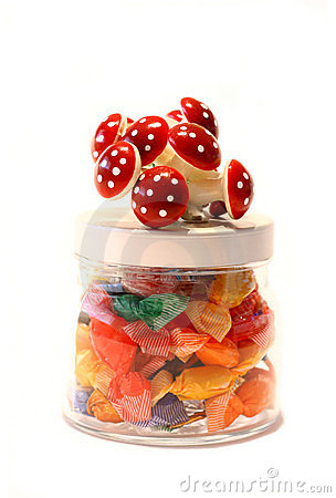 Free Jar Of Candy Stock Photography - 1905372