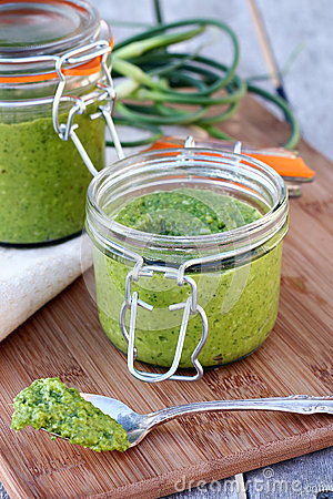 Jar of Pesto