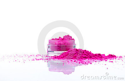 Jar With Powder Royalty Free Stock Photos - Image: 21014838