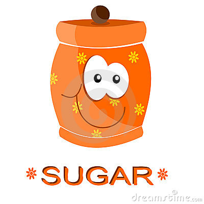 Jar of sugar
