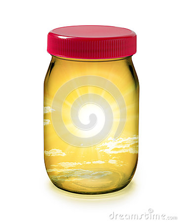 Jar Sun Solar Energy Sustainability