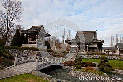 Jardim asiático