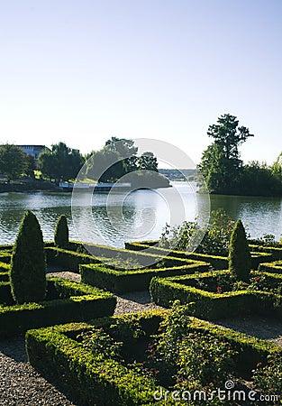 Jardim decorativo