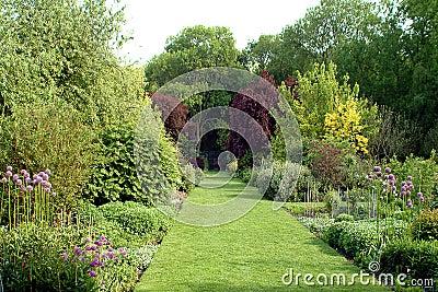 Jardim inglês do país