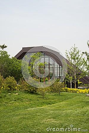 Jardin d 39 expo de jardin de la chine p kin d 39 asiatique architecture moderne hall d 39 exposition for Architecture de jardin