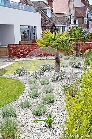 jardin moderne exotique de zen images stock image 31511064. Black Bedroom Furniture Sets. Home Design Ideas
