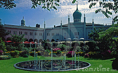 Jardines de Tivoli, Copenhague, Dinamarca