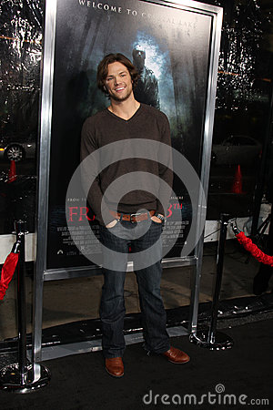 Jared Padalecki Editorial Stock Image