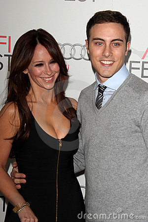 Jarod Einsohn, Jennifer Love Hewitt Editorial Stock Image