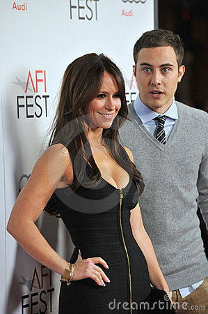 Jarod Einsohn, Jennifer Love Hewitt, Immagine Stock Editoriale