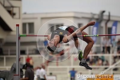 Editorial Photo: Jaroslav Baba - high jump