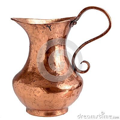 Jarro de cobre foto de stock royalty free imagem 9076295 - Objetos de cobre ...