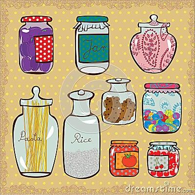 Free Jars Royalty Free Stock Photos - 42426518