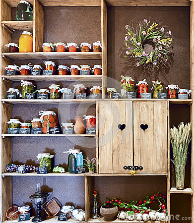 Free Jars Of Pickled Vegetables Royalty Free Stock Image - 25168626