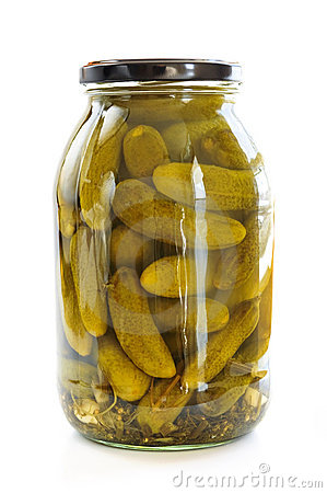 Free Jars Of Pickles Stock Photos - 8120893