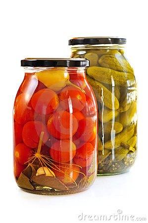 Free Jars Of Pickles Stock Photos - 8120903