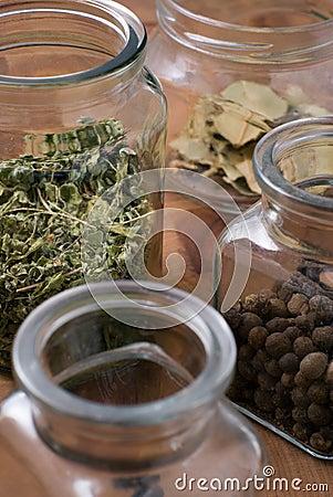 Free Jars With Herbs Stock Photos - 2316623