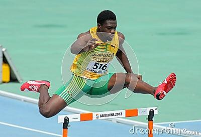 Jarvan Gallimore of Jamaica Editorial Image