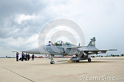 JAS 39 Gripen Editorial Stock Image