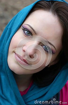 Jaskrawy makeup