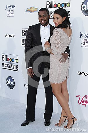 Jason Derulo, Jordin Sparks at the 2012 Billboard Music Awards Arrivals, MGM Grand, Las Vegas, NV 05-20-12 Editorial Image