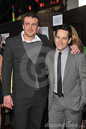 Jason Segel, Paul Rudd Editorial Image