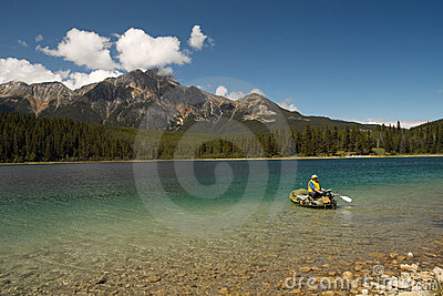 Jasper National Park - Alberta - Canada Editorial Image